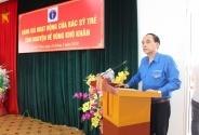 Buổi làm việc đánh giá hoạt động Bác sĩ trẻ tình nguyện tại vùng khó khăn thuộc Tỉnh Sơn La