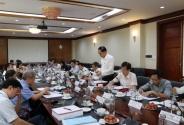 Họp thẩm định đề án thành lập Trường Đại học Y Dược là trường Đại học thành viên của Đại học Quốc gia Hà Nội