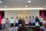 Cục trưởng Cục Khoa học công nghệ và Đào tạo làm việc với Trường Đại học Hồng Bàng