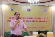 Khai giảng khóa X – Chương trình đào tạo cán bộ lãnh đạo, quản lý ngành y tế Việt Nam