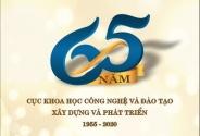 Cục Khoa học công nghệ và Đào tạo tổ chức Lễ kỷ niệm 65 năm Ngày thành lập