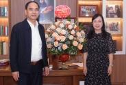 Cục Khoa học công nghệ và Đào tạo chúc mừng các Lãnh đạo Bộ Y tế tiền nhiệm nhân ngày Nhà giáo Việt Nam