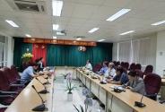 Cục Khoa học công nghệ và Đào tạo làm việc với Viện Sốt rét – Ký sinh trùng – Côn trùng Quy Nhơn