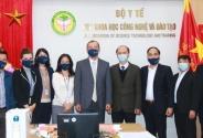 Hội đồng Y khoa Quốc gia làm việc với Tổ chức Y tế Thế giới (WHO)