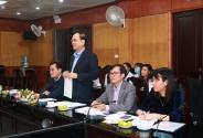 Cục Khoa học công nghệ và Đào tạo làm việc với Bệnh viện Da liễu trung ương