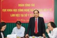 Công tác đào tạo nhân lực y tế tỉnh Cao Bằng