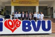 Cục Khoa học công nghệ và Đào tạo làm việc với Trường Đại học Bà Rịa, Vũng Tàu