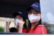Lần thứ 3 trong 10 ngày, Trường Đại học Y Hà Nội đưa cán bộ, sinh viên chi viện tâm dịch Bắc Ninh