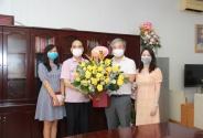 Cục Khoa học công nghệ và Đào tạo chúc mừng Báo Sức khỏe đời sống nhân ngày Báo chí cách mạng Việt Nam
