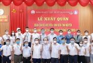 Hơn 300 tình nguyện viên Y Dược Thái Nguyên vào TPHCM chống dịch