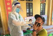 """Thầy thuốc Quảng Ninh """"xuyên đêm"""" cùng huyện Chương Mỹ chống dịch"""