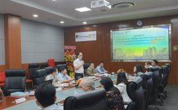 Cục Khoa học công nghệ và Đào tạo làm việc với Trường Đại học Nguyễn Tất Thành
