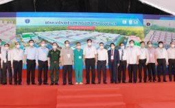 Khánh thành Bệnh viện dã chiến điều trị Covid-19 tại quận Hoàng Mai