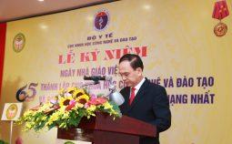 Diễn văn kỷ niệm 65 năm thành lập Cục Khoa học công nghệ và Đào tạo và Ngày Nhà giáo Việt Nam