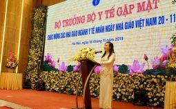 Bộ trưởng Bộ Y tế gửi thư Chúc mừng ngày nhà giáo Việt Nam 20 – 11