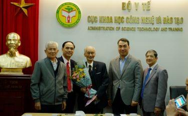 Đón tiếp các cán bộ tiền nhiệm nhân dịp đón mừng Tết Nguyên đán Canh Tý 2020