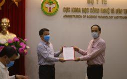 Thành lập Đảng bộ cơ sở Cục Khoa học công nghệ và Đào tạo