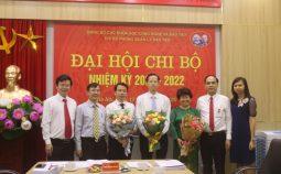 Chi bộ Phòng Quản lý Đào tạo đã tổ chức đại hội lần thứ nhất, nhiệm kỳ 2020 – 2022