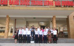 Bộ Y Tế thăm và làm việc với Trường Cao đẳng Dược Trung ương Hải Dương