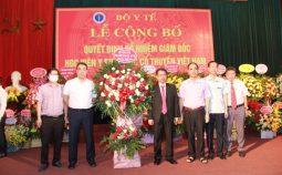 Bộ Y tế bổ nhiệm Giám đốc Học viện Y-Dược học cổ truyền Việt Nam