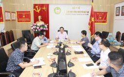 Lãnh đạo Ban Quản lý Dự án 585 làm việc với Lãnh đạo Quỹ Thiện Tâm thuộc tập đoàn Vingroup