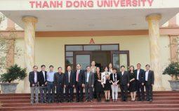 Cục Khoa học công nghệ và Đào tạo làm việc với Trường Đại học Thành Đông