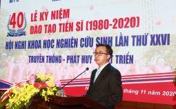 Đại học Y Hà Nội – 40 năm đào tạo Tiến sĩ
