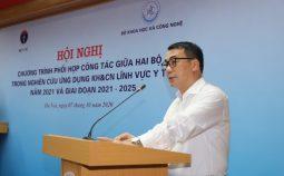 Hội nghị chương trình phối hợp công tác giữa Bộ Y tế và Bộ Khoa học và Công nghệ trong nghiên cứu ứng dụng KHCN lĩnh vực y tế