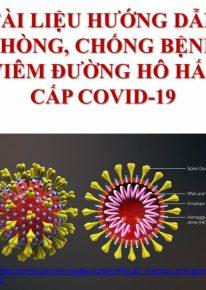 Tài liệu hướng dẫn về COVID-19