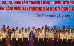 Đoàn công tác của Bộ Trưởng Bộ Y tế đến thăm và làm việc với Trường Đại học Y Dược Cần Thơ