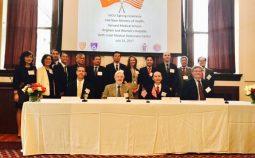 Lễ ký kết hợp tác về đổi mới Đào tạo Nhân lực Y tế giữa Bộ Y tế và Đại học Harvard Hoa Kỳ
