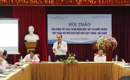 Hội thảo ứng dụng kết quả tham quan học tập tại nước ngoài, góp phần đổi mới giáo dục đào tạo y khoa tại Việt Nam