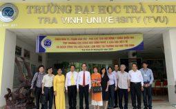 Cục Khoa học công nghệ và Đào tạo làm việc với Trường Đại học Trà Vinh
