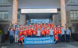 Cán bộ, sinh viên Trường Đại học Y Dược Thái Bình lên đường tham gia hỗ trợ phòng chống dịch tại Thành phố Hồ Chí Minh